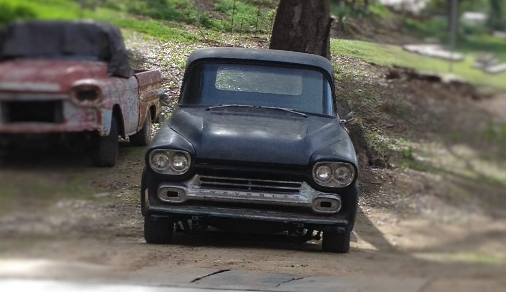 First Truck The 59 Apache Update Gt The Barn