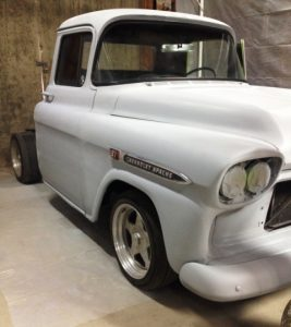 1959 Apache with light gray primer applied.