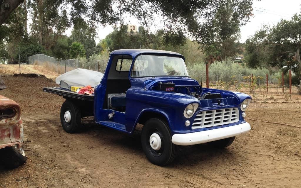 1956 Chevrolet 3600 restoration nearly finished