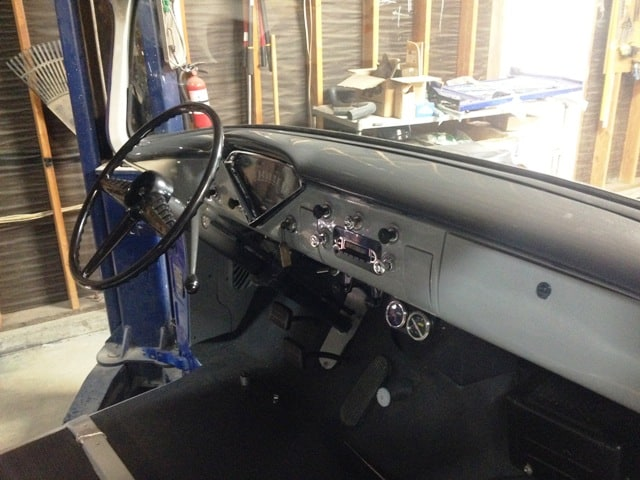 1956 Chevrolet 3600 Interior Restoration Gt The Barn