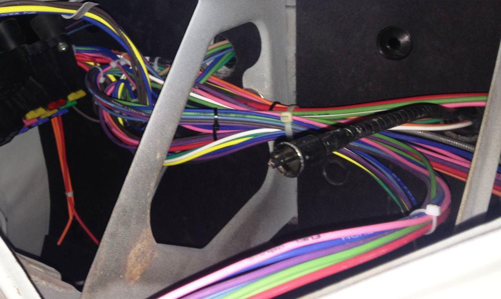 rebel wire kit under the dash wiring