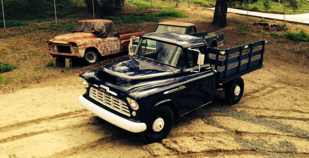 1956 Chevy 3600 truck Archives > The Barn